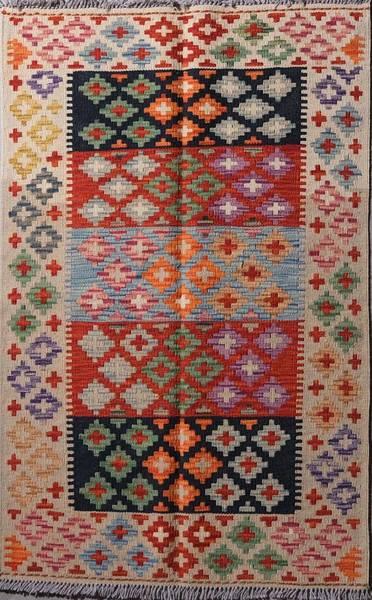 Bilde av Afghansk kelim str 126 x 81