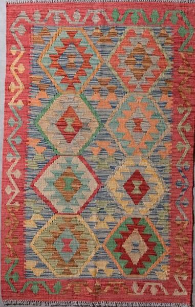 Bilde av Afghansk kelim str 124 x 79