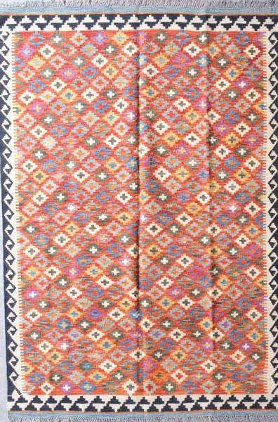 Bilde av Afghansk kelim str 186 x 128