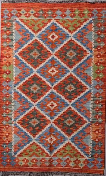 Bilde av Afghansk kelim str 126 x 79