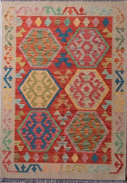 Bilde av Afghansk kelim str 122 x 86