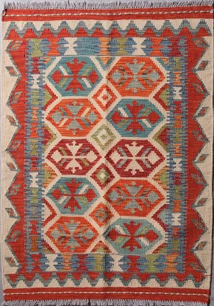 Bilde av Afghansk kelim str 114 x 83