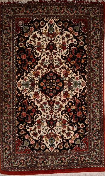 Bilde av Persisk Qum med silke Str 150 x 95