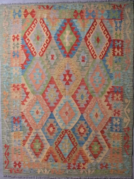 Bilde av Afghansk kelim str 201 x 156