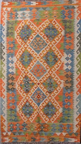 Bilde av Afghansk kelim str 140 x 81