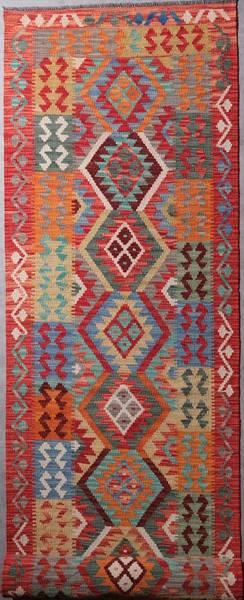 Bilde av Afghansk kelim str 396 x 84