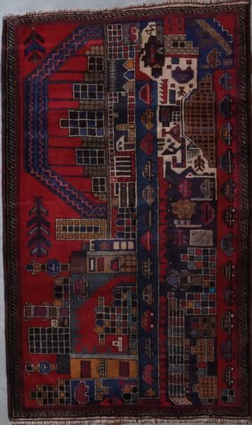 Bilde av Old Afghansk Belutch str 149 x 88
