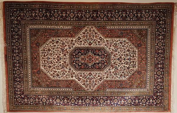 Bilde av Persisk Qum silke str 200 x 131