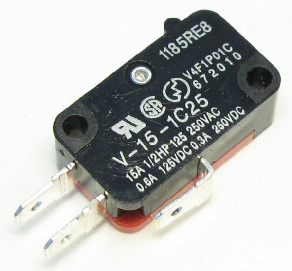 Omron Microswitch for Pushbuttons
