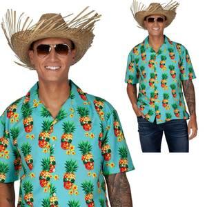 Bilde av Hawaiiskjorte funky pineapple