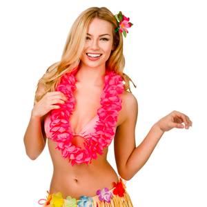 Bilde av Hawaii krans hot pink