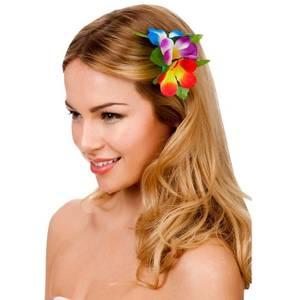 Bilde av Blomst hårklipe multifarget