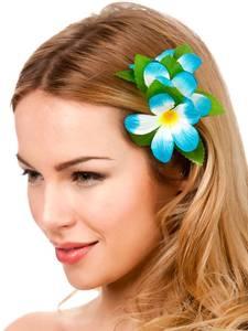 Bilde av Blomst hårklipe sky blue