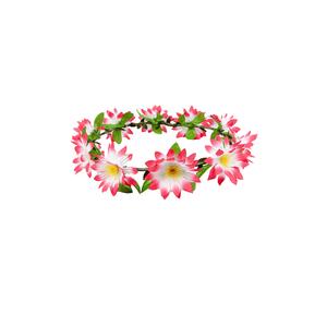 Bilde av Blomsterkrans rosa