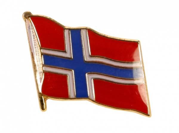 Pin - Norsk flagg