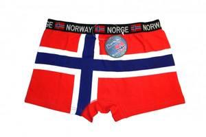 Bilde av Bokser shorts i norsk flagg