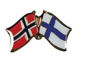 Bilde av Vennskaps pin Norge - Finland