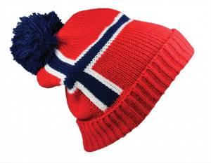 Bilde av Topplue i norske farger