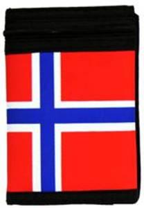 Bilde av Lommebok med Norsk flagg