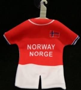 Bilde av Mini Fotballdrakt Norge