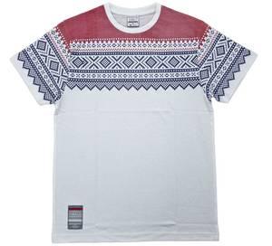 Bilde av T-skjorte - Mariusmønster - hvit