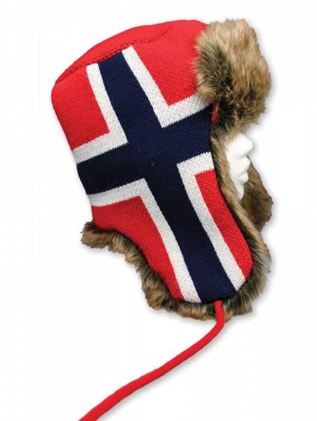 Bomberlue i norsk flagg