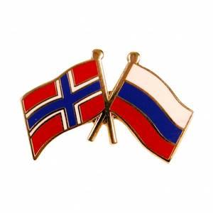 Bilde av Vennskaps pin Norge - Russland