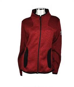 Bilde av Leah - Lett fleece jakke - Rød