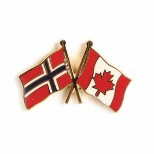 Bilde av Vennskaps pin Norge - Canada