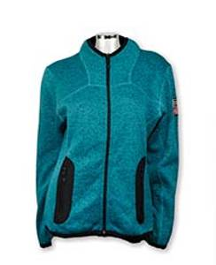 Bilde av Leah - Lett fleece jakke - Turkis