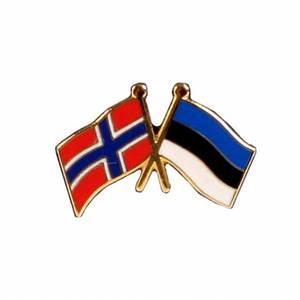 Bilde av Vennskaps pin Norge - Estland