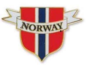 Bilde av Pin - Norsk flagg - Skjold