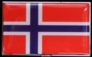 Bilde av Kortholder i norsk flagg