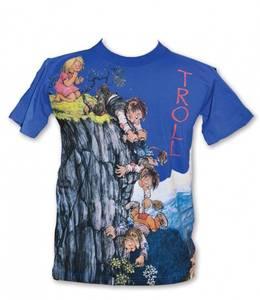 Bilde av T-skjorte - Klatretroll - Blå