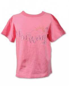 Bilde av T-skjorte - Norway med glittersteiner - Rosa