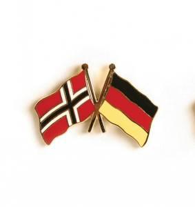 Bilde av Vennskaps pin Norge - Tyskland