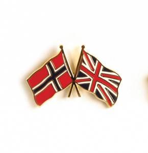 Bilde av Vennskaps pin Norge - Storbritannia