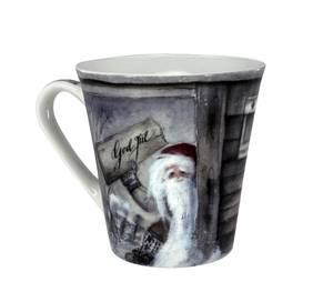Bilde av Gammelnissen, krus nr 2 - Nisse ønsker god jul