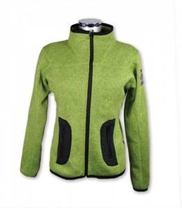 Bilde av Leah - Lett fleece jakke - Lys grønn