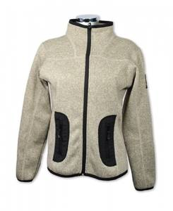 Bilde av Leah - Lett fleece jakke - Lys grå