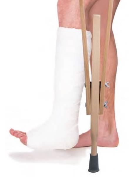 Underarmkrykker / amerikanske krykker (Et par) - lang