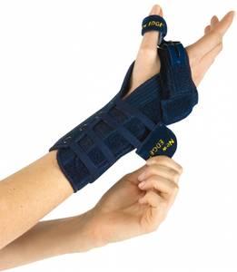 Bilde av Håndleddskinne med justerbar tommelstøtte