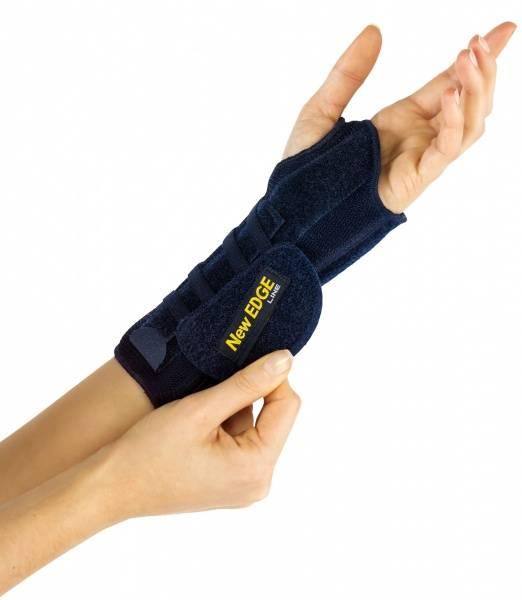 Håndleddskinne uten tommelstøtte