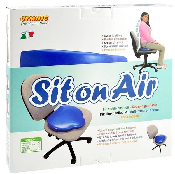 Opplåsbar sittepute for dynamisk sitting