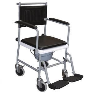 Bilde av Flyttbar toalettstol på hjul