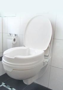 Bilde av Toalettforhøyer, standard utgave med lokk