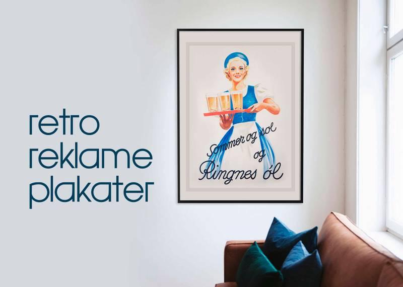 Retro plakater