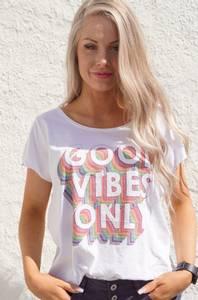 Bilde av T-Shirt Good Vibes Only