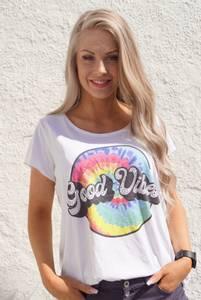 Bilde av T-Shirt Good Vibes Sirkel