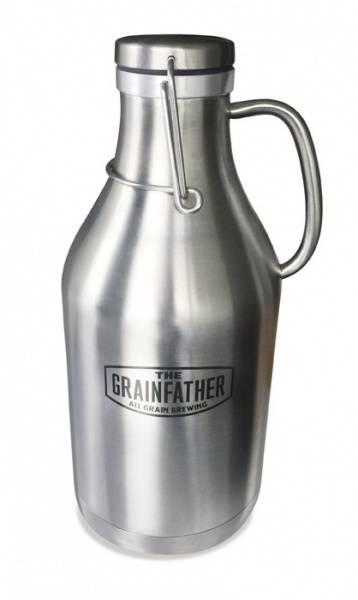 Grainfather Growler i stål 2 L